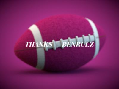 Thanks benrulz