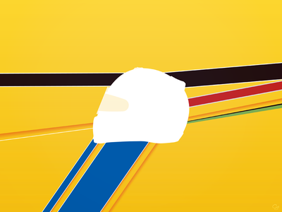 Beyond The Limit: test visual f1 helmet personal project test illustrator
