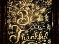 Thankful Dribbble