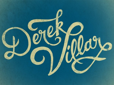 Dvtype typography calligraphy logo branding hand-drawn