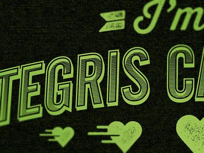 Integris Texture Trials typography texture test heart