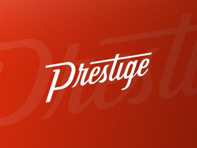 Prestige panini typography brand logo
