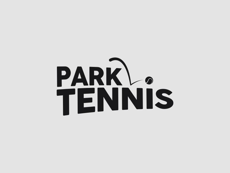 Park Tennis Logo trademark logotype branding motion brand tennis sport logo