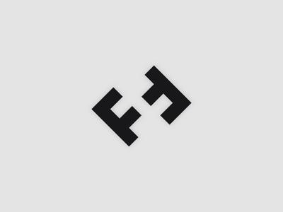 F + F + H concept logotype trademark monogram brand logo