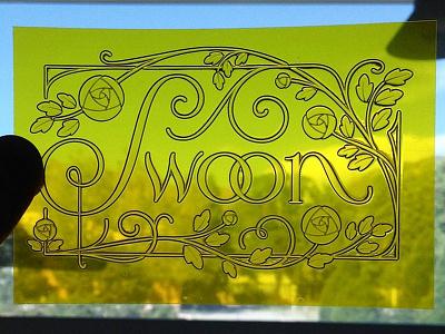 SwoOoOoOn illustration lettering