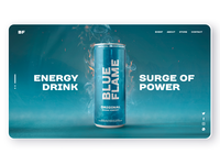 Blue Flame 2 - Energey drink