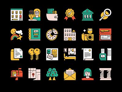 New Icon Set! illustration uiux design iconset