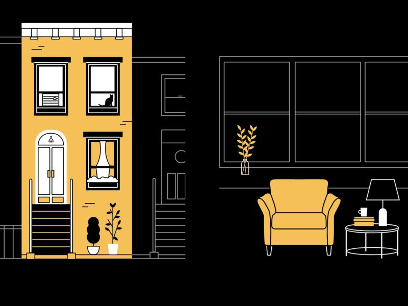 Homey illustrations nyc home illustration design