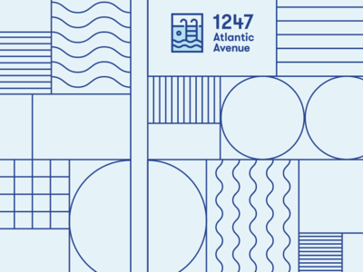 Stripes, waves and all things nice composition pattern design