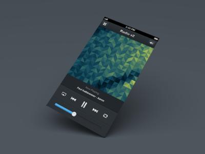 Radio v2 - Radio App Template for iPhone iphone app ios7 radio player