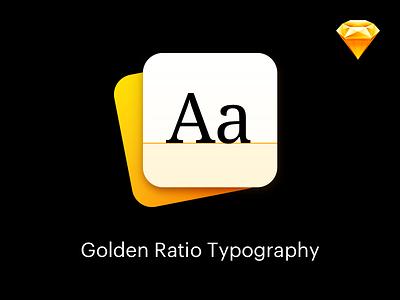 Golden Ratio Typography - Sketch Plugin  line height height line typography typo text golden ratio ratio golden sketch plugin
