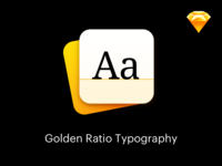 Golden Ratio Typography - Sketch Plugin