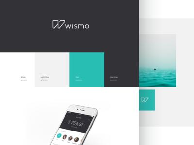 wismo visual identity  behance fintech financial design identity banking ui logo brand branding app