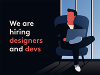 We are hiring ux ui position developer engineer frontend lead senior neverbland job hiring design