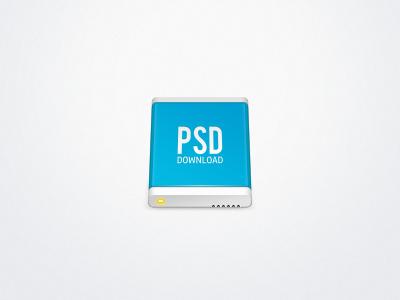 Hard Drive Icon [PSD] icon drive hd psd photoshop apple hard drive