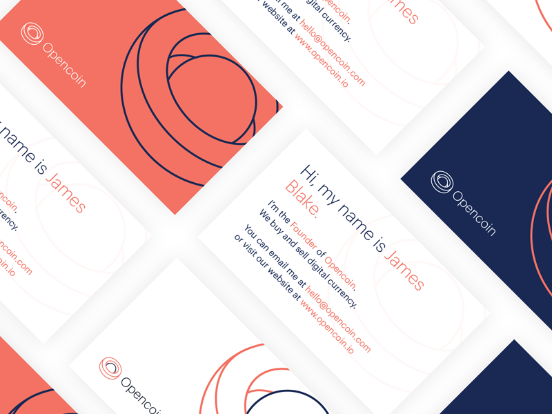 Open Coin Business Cards by Precious - Dribbble