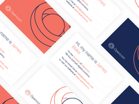 Open Coin Business Cards