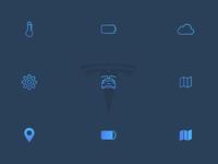 Tesla Icons