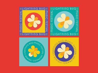 Lightning Bug Music Festival pt3 illustration identity branding design music festival