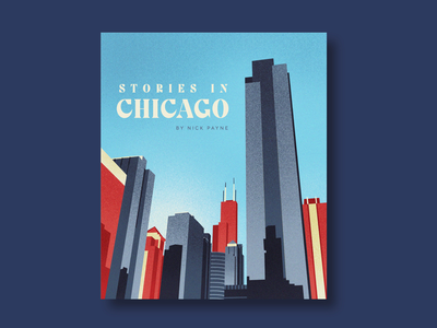 Stories in Chicago Poster graphicdesign poster design illustration poster