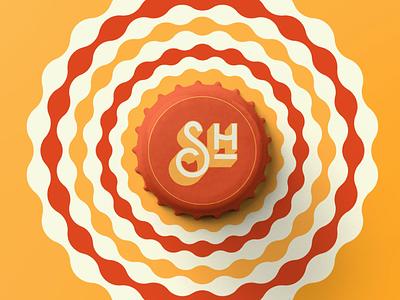 Simply Harmless pt3 typography graphic-design branding design