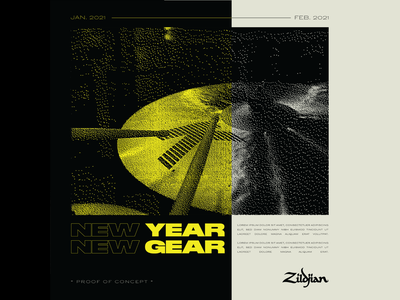 Z - New Year New Gear (POC) graphic-design branding design
