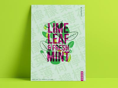 Lime Leaf and Fresh Mint branding ottawa poster design poster digital illustration illustration