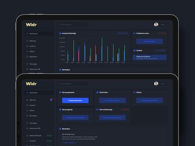 Dashboard chart dark version interface finances ipad apple app ui dark vizualization data graphics sketch chart income finance dashboard