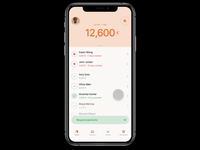 Widr Pay Lite: animation with Figma