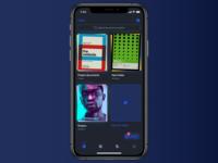 Scanner App scanner clean app ios ux branding iphone interaction dark interface ui