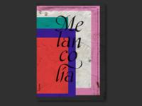 Poster Design Melancolía