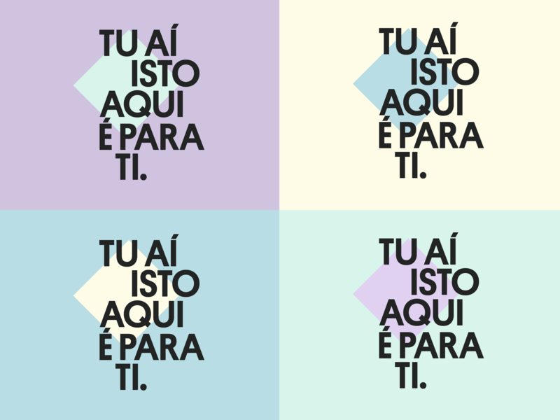 Grid system exercise graphicdesign system geometric composition sanserif typography bold portuguese grid