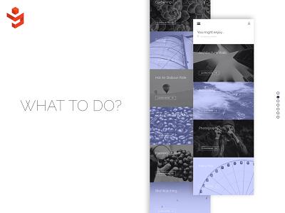 What To Do? web design graphic design logo photography design app responsive mobile