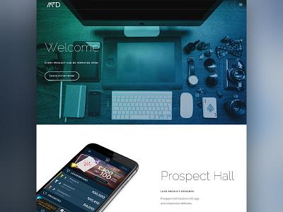Personal website redesign web design portfolio