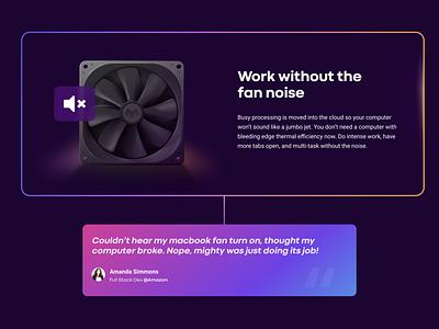 Mighty Fan app mighty fan website web icon ux vector ui illustration art design