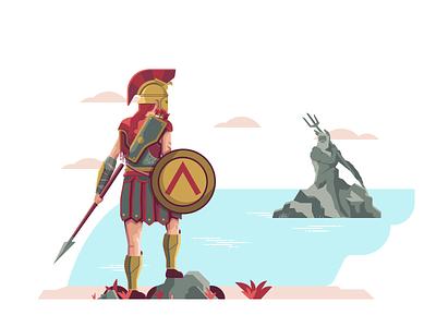 AC Odyssey design art illustration ac graphic