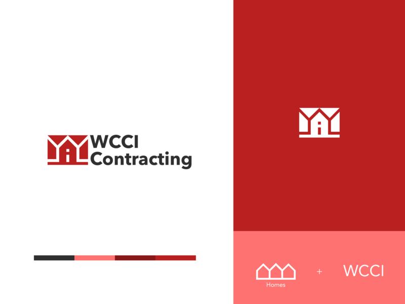 Contracting contracting construction branding icon design vector logo