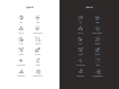Icon group 2 gradient glyph icon set web icon ux ui design