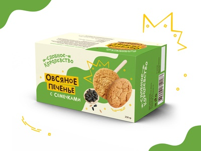Packaging for oatmeal cookies