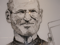 Steve Jobs Whiteboard