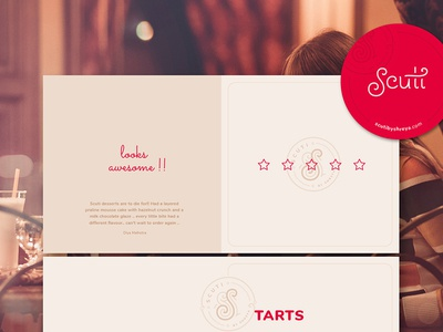 scuti - Gourmet Desserts & Chocolates - Branding