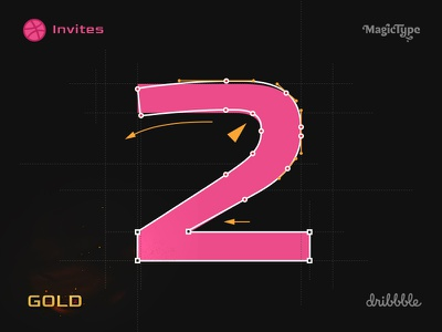 Dribbble Invites bollywood mumbai india font type design typography drafts invitations invitation invites invite dribbble