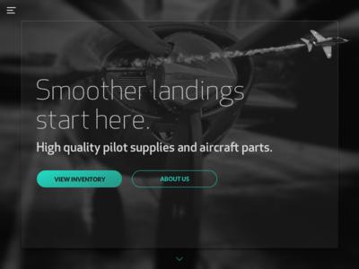 DailyUI - 003 - Landing Page