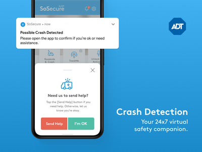 ADT SoSecure strategy personal security services adt sosecure sosecure adt nagarro ux ui design mobile android ios security product strategy product design product uiux