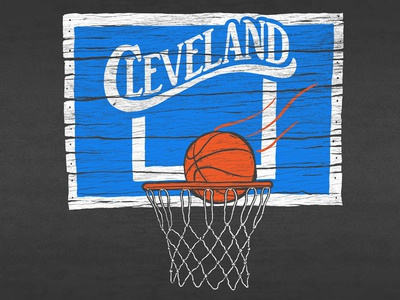 Cle Vintage Basketball