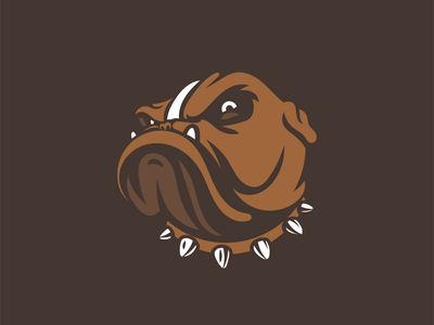 Bulldog attitude ohio the land cleveland cle browns bulldog