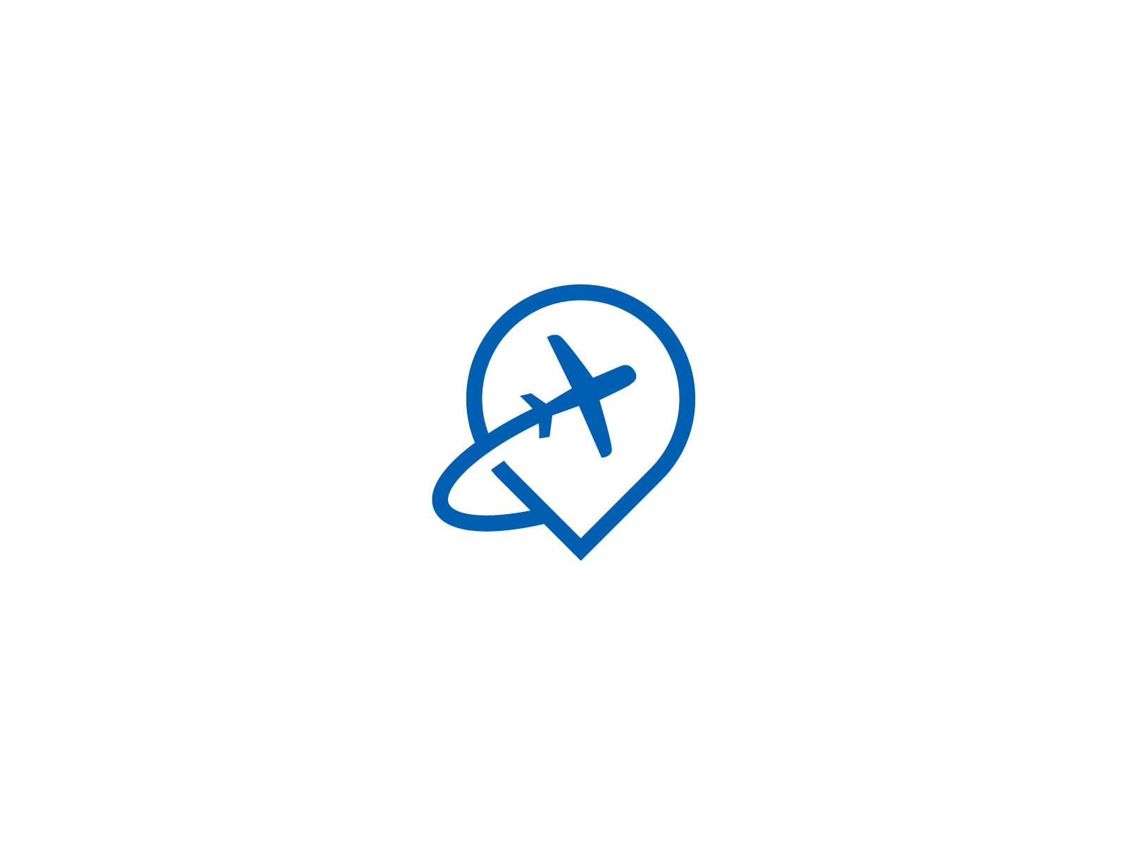 Pin Plane Icon By Lioner Dribbble