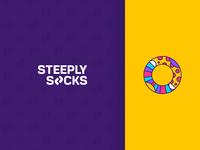 Steeply Socks