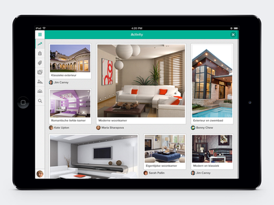 Obly Interior Design Inspiration Ipad App By Benny Chew On Dribbble