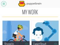 Puppetbrain mobile work